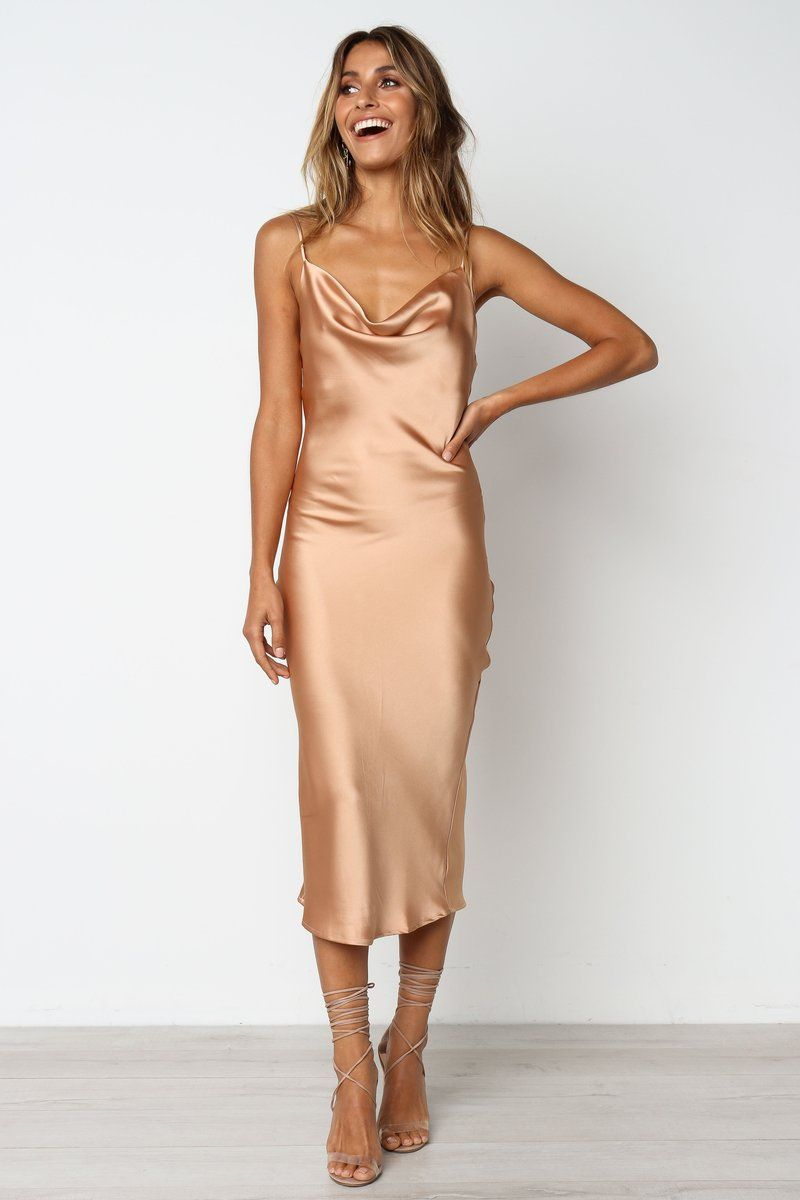 Persia Dress Gold Silk Bridesmaid Dresses Gold Slip Dress Slip Bridesmaids Dresses [ 1200 x 800 Pixel ]