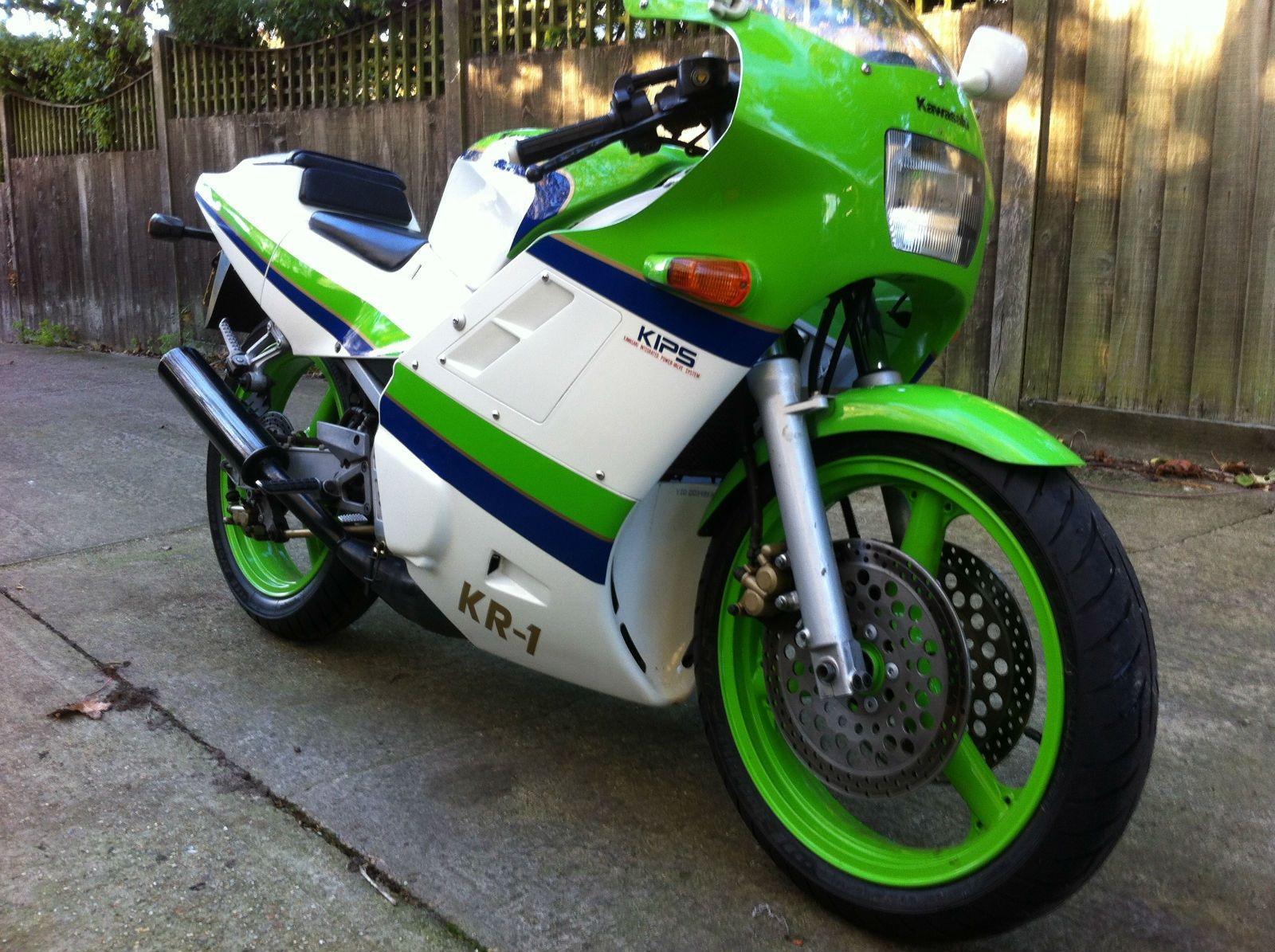 Kawasaki KR-1 Motorcycles, Motorbikes, Choppers, Crotch Rockets