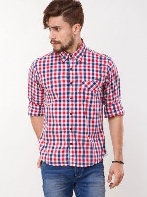 Pepe Jeans Check Printed Shirt buy from koovs | shirts for men ...