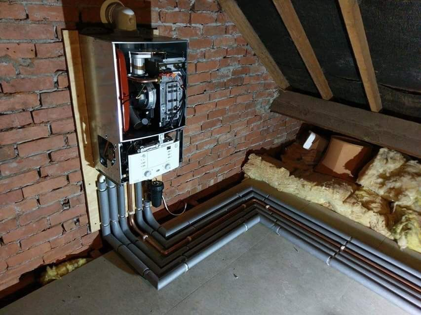 We are Installing a new central heating system in Vancouver Drive ...