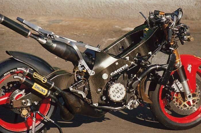 Cagiva 500 Carbon Frame Motobikes Pinterest Motorcycle Racing