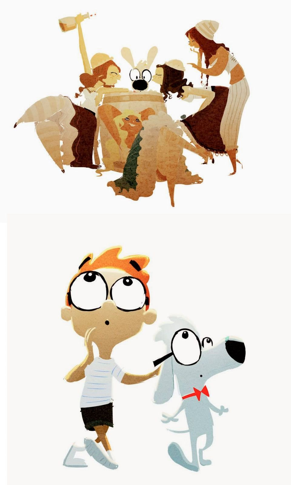 Clip Art Mr Peabody and Sherman