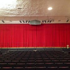 Keith Valley Middle School - AV Drapery Installation done by Zeo Systems #drapery #draperyinstallations #soundsystems