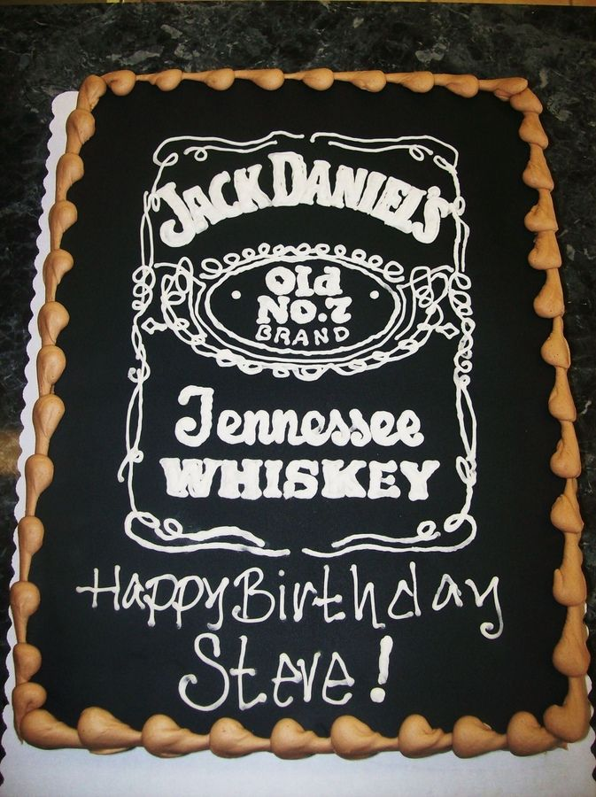 jack daniel birthday cake Google Search Cakes Pinterest