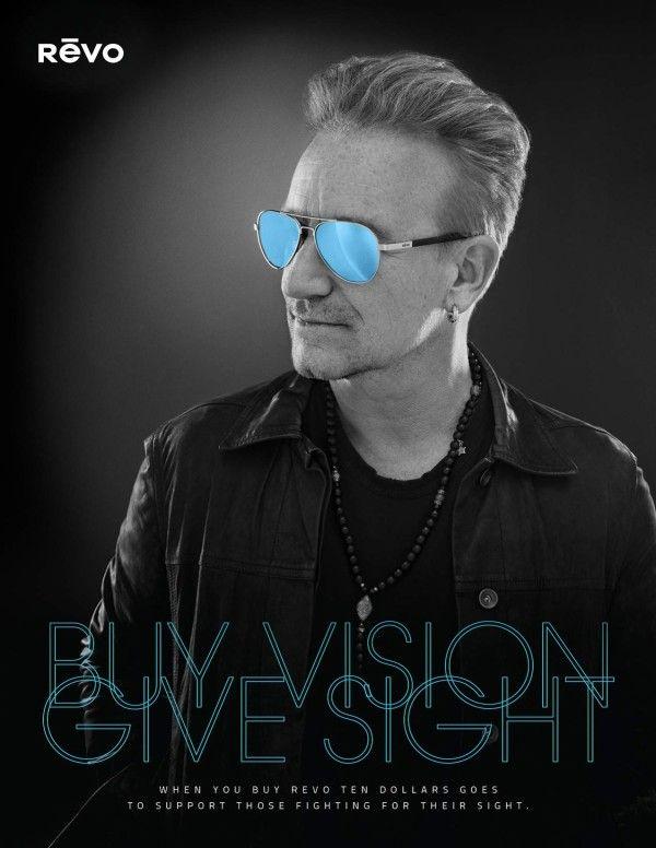 70934c44950 Bono to launch sunglasses with Revo