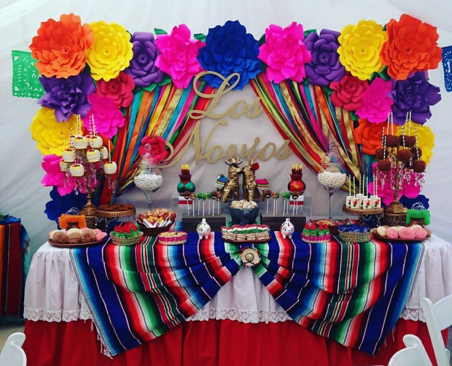 Ofrenda Table Of Remembrance Decor Ideas Mexican Party