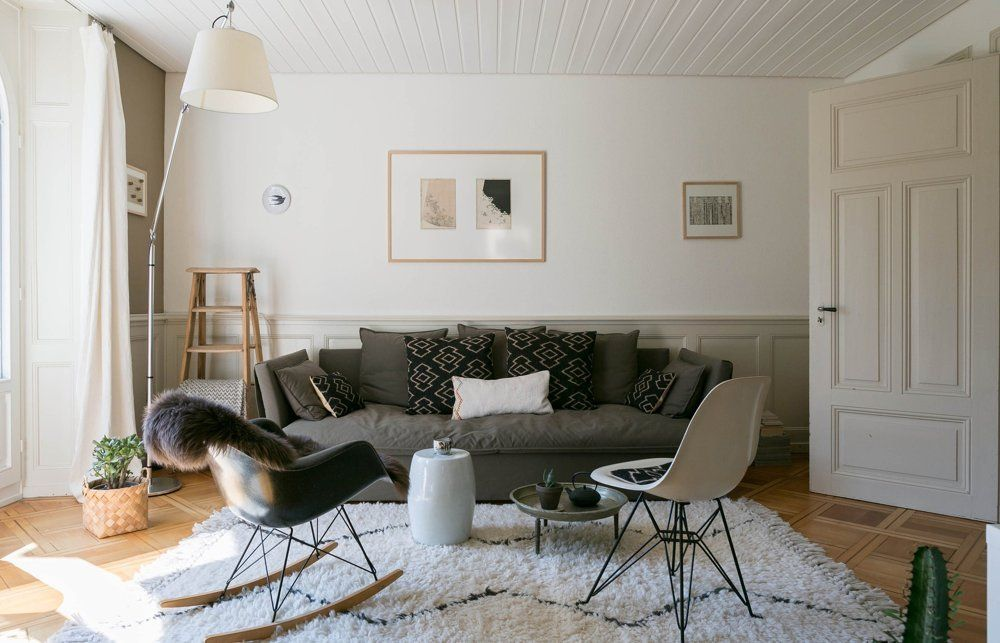 House Tour: An Organic Modern Swiss Rental Apartment | Apartment Therapy