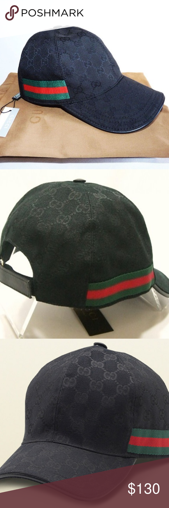 4074757fa2d04 GUCCI HAT Black