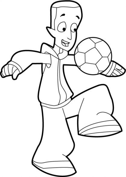 Coloriage Foot 2 Rue Extreme.Coloriage Foot 2 Rue A Colorier Dessin A Imprimer S Foot
