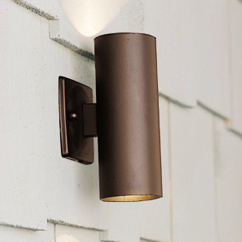 Kichler Lighting 15079azt 2 Light Low Voltage Outdoor Sconce Atg S