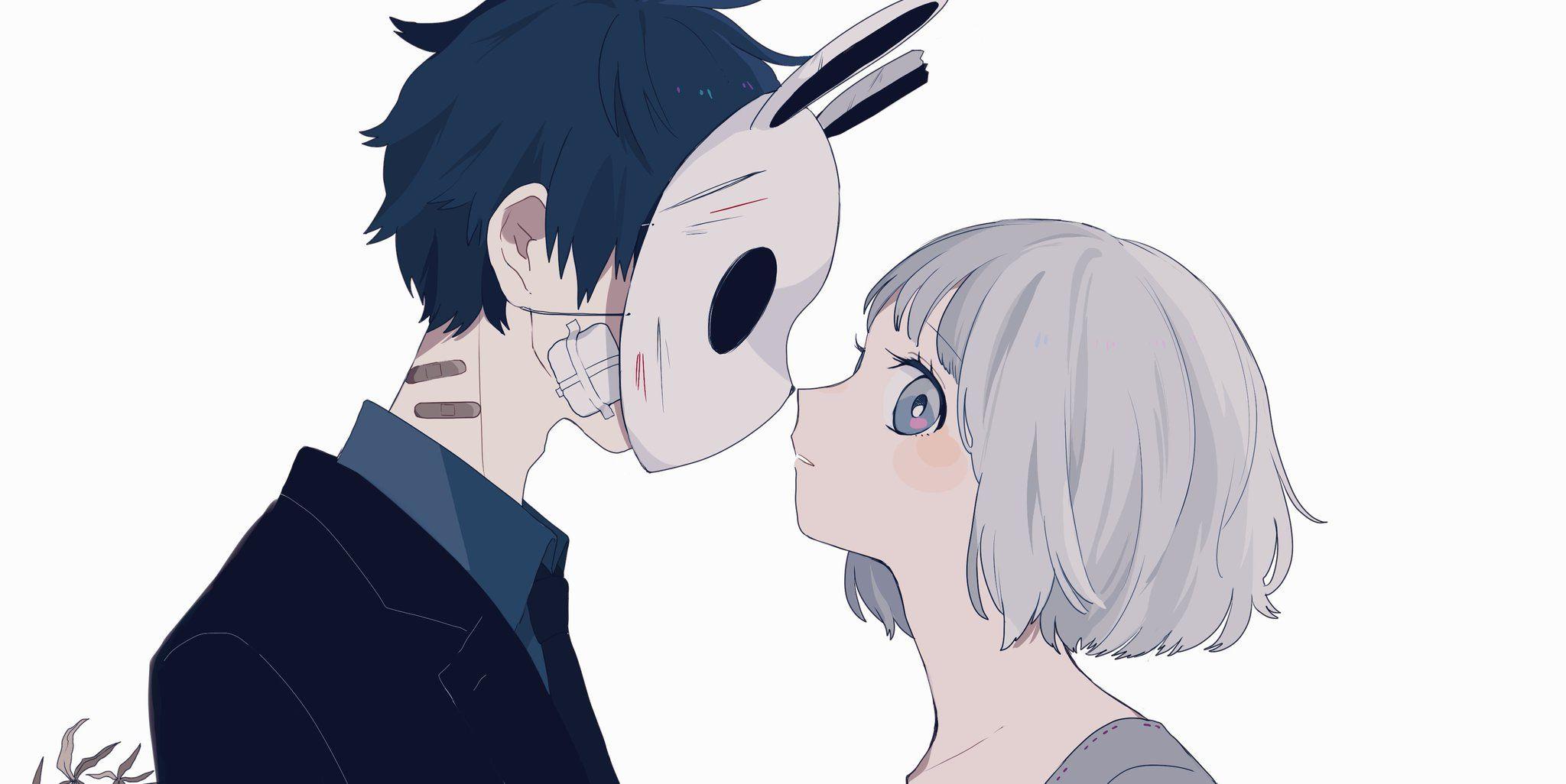 Cute Anime Couples Aesthetic ~ Anime Girl