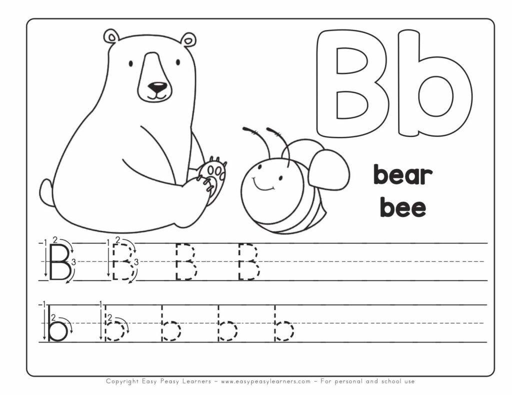 Free Printable Alphabet Book - Alphabet Worksheets for Pre ...
