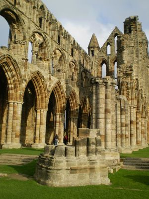 Whitby Abbey, Yorkshire Moors
