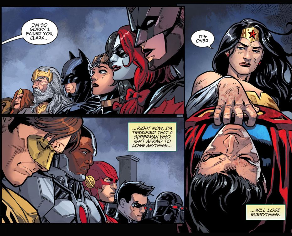 Injustice Gods Among Us Comics Pdf