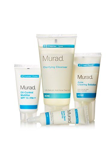 Murad Acne Starter Kit Murad Http Www Amazon Com Dp B00j1ers9m Ref Cm Sw R Pi Dp Azrvb0avxfnx Oil Control Products Skin Care Acne Acne Cure