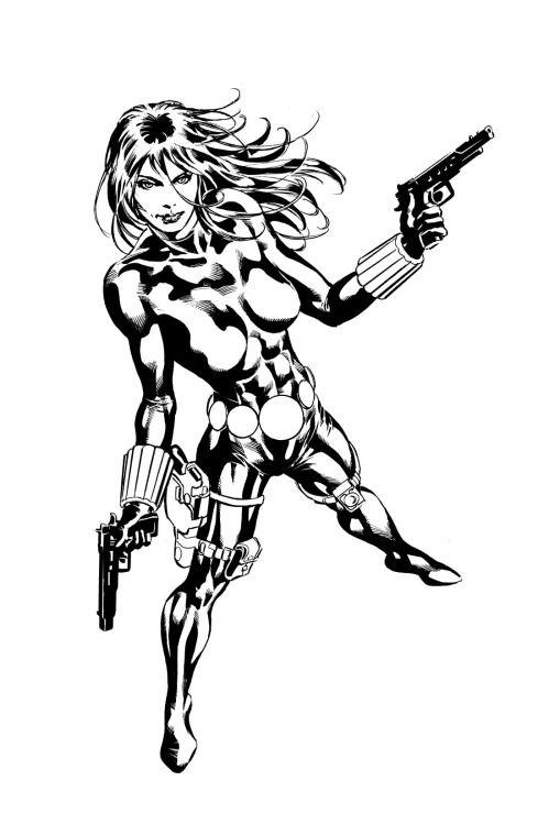 Black Widow - Mike Deodato Jr. | Favorites | Pinterest