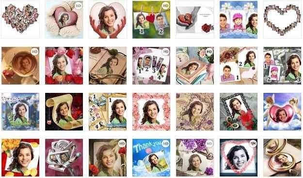 Suatu Saat Kamu Mungkin Ingin Menggabungkan Foto Kamu Dengan Foto Idola Kamu Atau Hanya Sekedar Ingin Menambahkan Sebuah Bin Bingkai Foto Kartu Pos Kolase Foto