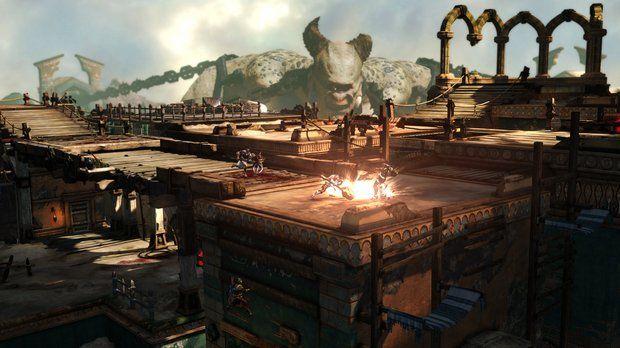 Veja as primeiras imagens do modo multiplayer de God of War: Ascension