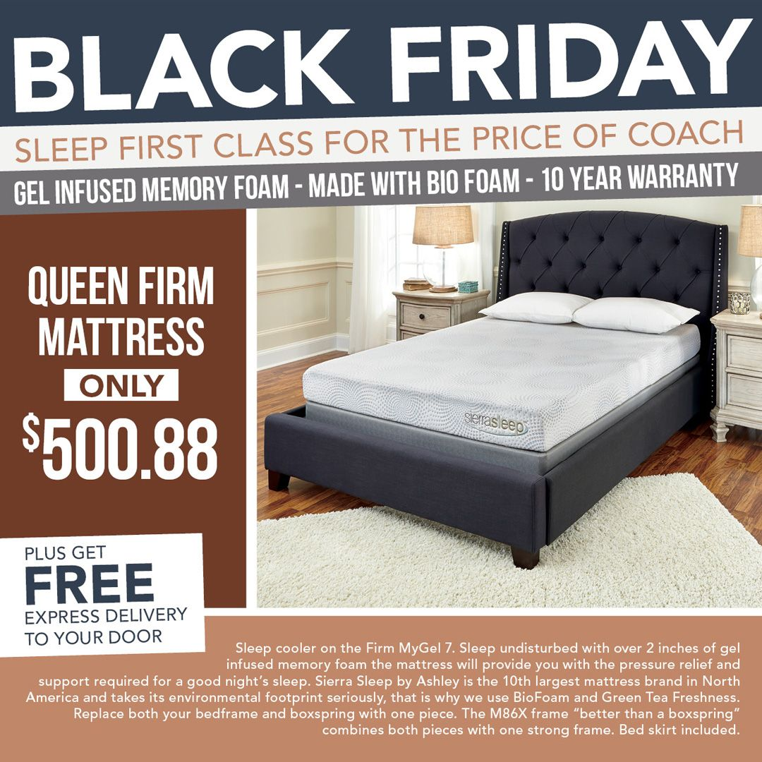 quality assured queen mattress from ashley furniture at just 500 88