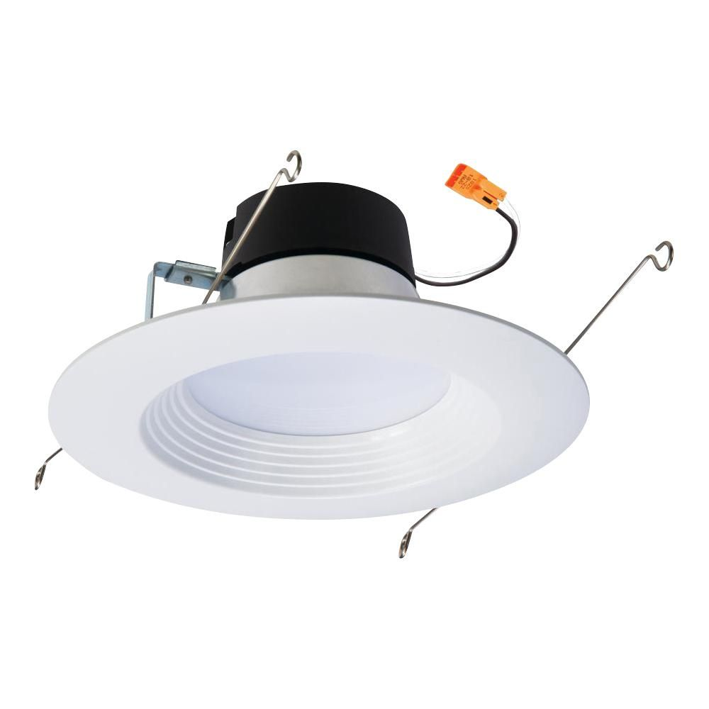 Halo Lt 5 In And 6 White Integrated Led Recessed