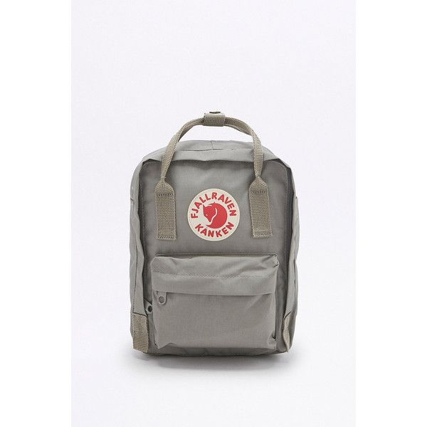 Fjallraven Kanken Classic Mini Grey Backpack (6.785 RUB) ❤ liked on Polyvore featuring bags, backpacks, grey, bear bag, pouch bag, mini pouch, grey bag and fjallraven rucksack