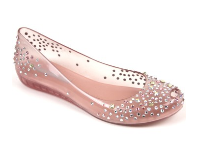 4ee8b900f I ve been obsessed with these Melissa shoes forever! Melissa Swarovski  Crystal pink flats