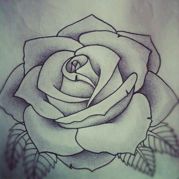 perfect rose tattoo inkspiration pinterest rose tattoos rh pinterest com au black rose tattoo stencils rose tattoo template