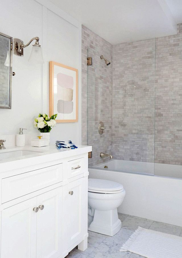 The pros have spoken these are the best small bathroom - Best light gray paint color for bathroom ...