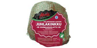 Atria n5kg Viljapossun Luuton Juhlakinkku Verkossa pakaste, tuottajatilamerkintä.
