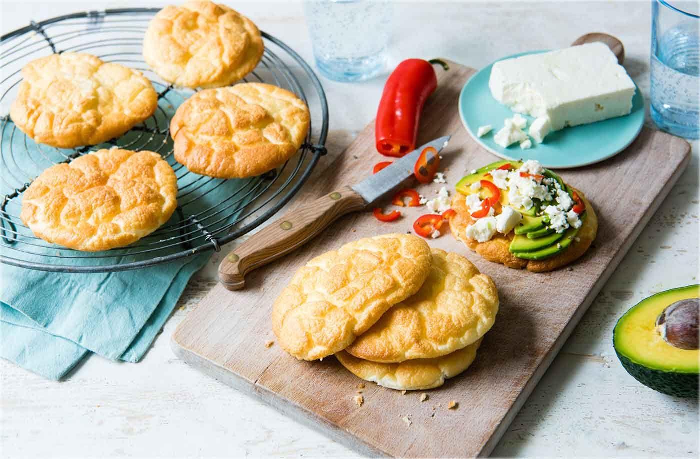 Cloud Bread Recipe Tesco Real Food Food Recipes Cloud Bread