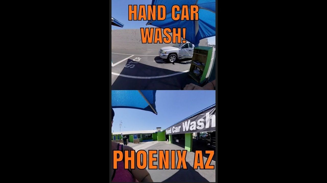 Best hand car washes and car detailing in Phoenix, Az