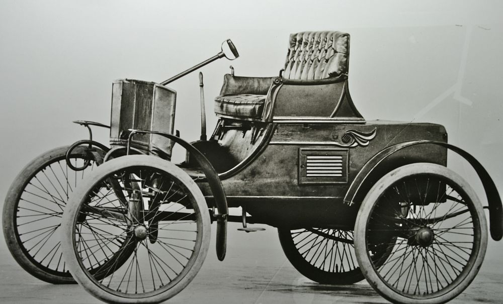 The First Packard Car….The Model A 1899-1900 | The Old Motor ...