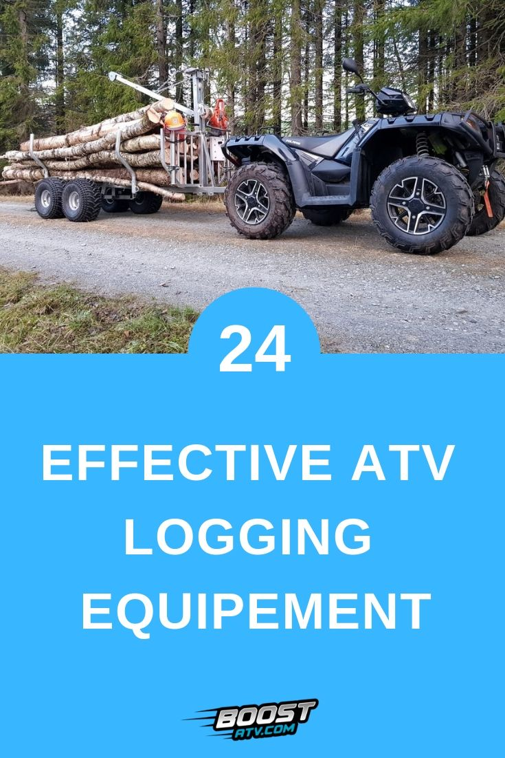 My Favorite ATV Logging Equipment and 23 More Logging