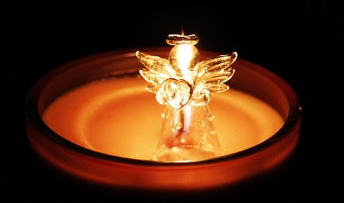 #Angel #candle #holynight