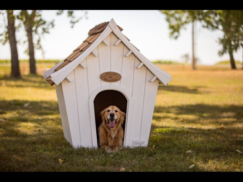 Centennial Dog House Outdoor Indoor Solid Wood Modular And Etsy