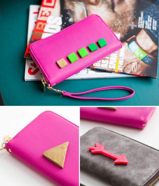 ADD 3D FLAIR TO YOUR CLUTCH BAGS