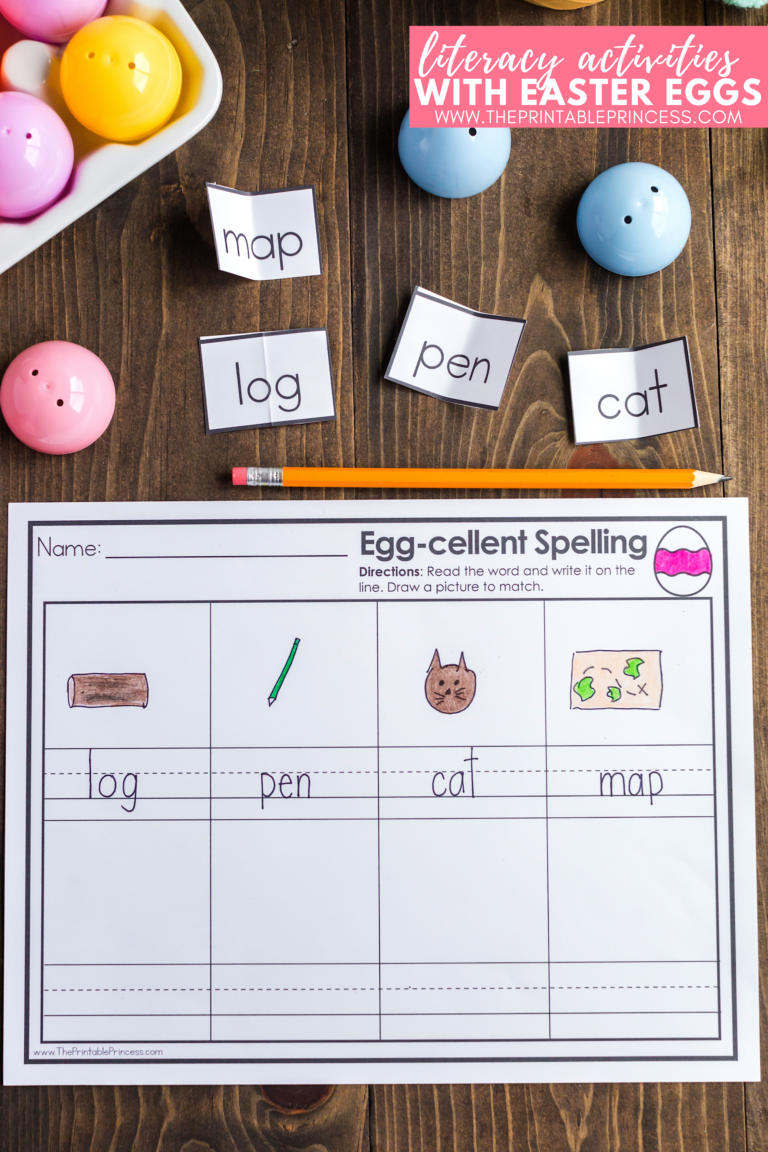 Easter Egg Literacy Activities For Kindergarten Freebies Included In 2021 Literacy Activities Kindergarten Freebies Kindergarten Activities [ 1152 x 768 Pixel ]