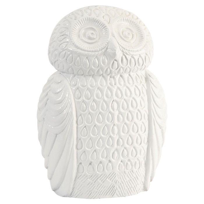 Oscar The Owl Sculpture Ceramic Owl Owl House Decor