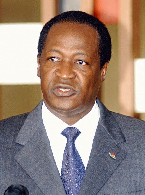 President Blaise Compaoré has been in power since a coup d'état in 1987. ◆Burkina Faso - Wikipedia https://en.wikipedia.org/wiki/Burkina_Faso #Burkina_Faso