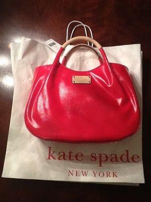 New Nwt Kate Spade Red Handbag Purse Tote Kate Spade S Design Is