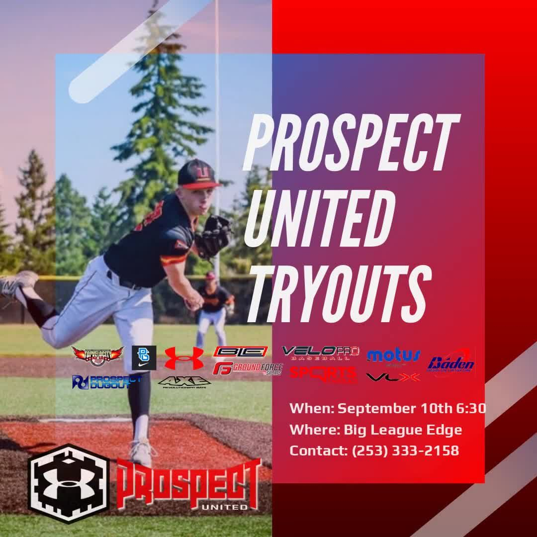 Tomorrow At 6 30 At Ble Don T Miss Your Chance To Be A Part Of Under Armour Baseball And Prospect United I It S Time Video Travel Baseball Baseball Baden