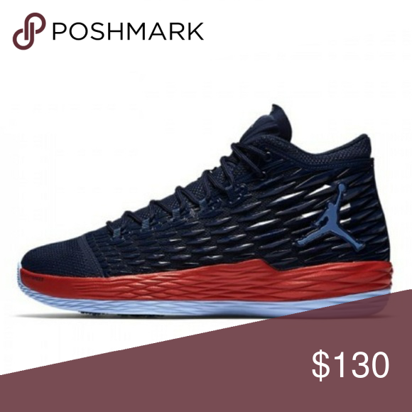 premium selection 48b3a 61875 NEW NIKE AIR JORDAN MELO M13 SNEAKERS New Nike Air Jordan Carmelo Anthony  M13 Flight Speed Sneakers. Midnight Navy Max Orange. New without box! Mens  Size 11 ...