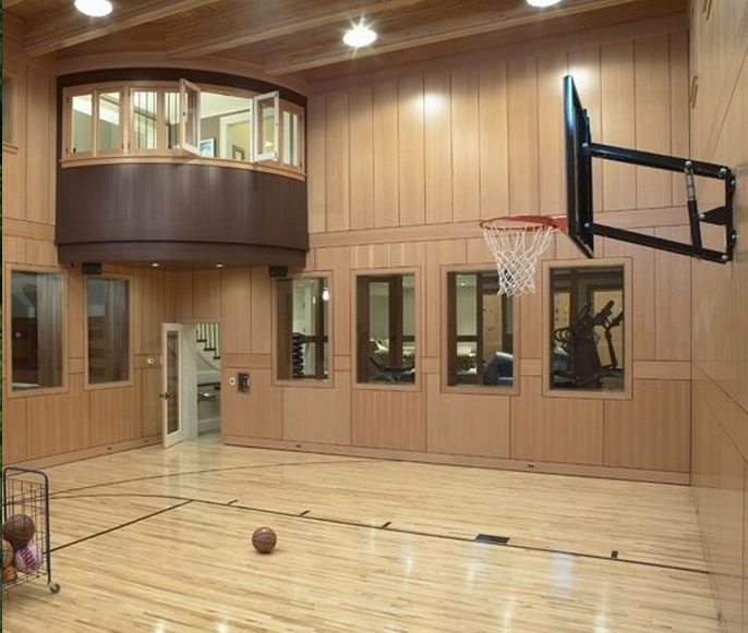 Indoor Basketball Courts Dream Home Design House Dream House
