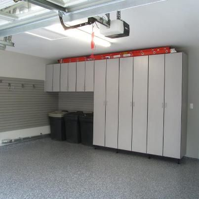 8 ft tall cabinets by garage designs of st louis garages