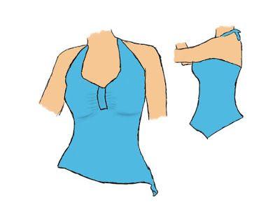 Baul Costureras molde costura gratis para blusa
