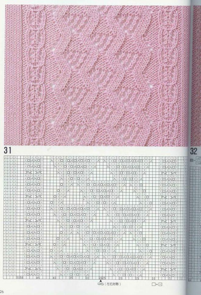 вязание   Puntadas, Abeja obrera y Dos agujas