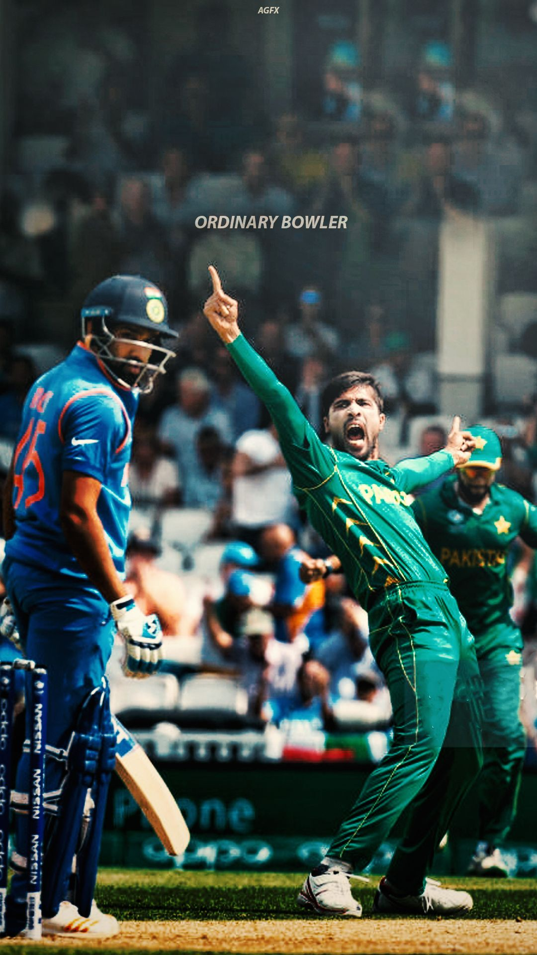 Cricket | Mohammad Amir | PSL - Wallpaper #PSL #Wallpaper