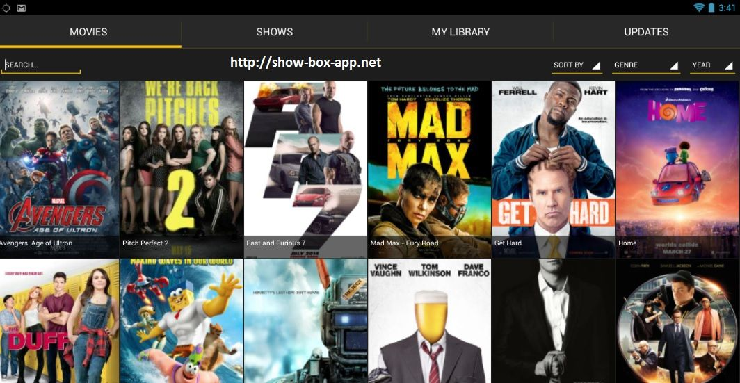 showbox movie app for android