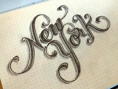 New-york-lettering