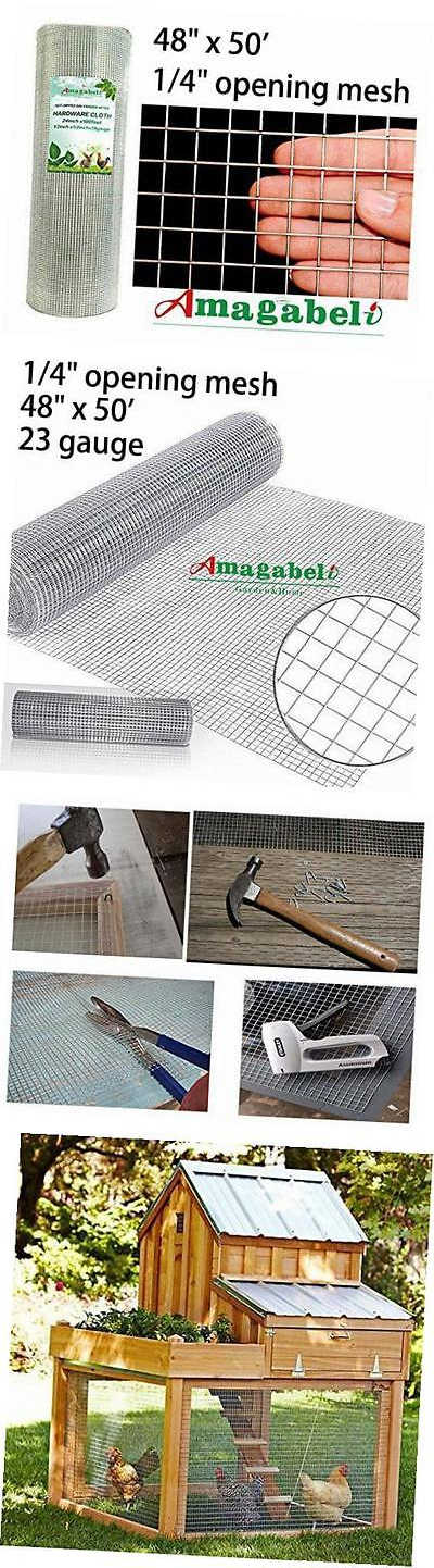 Hardware Cloth Metal Mesh 180985: 48X50 Hardware Cloth 1 4 Inch ...